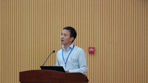 北京科技大學計算機與通信工程學院殷緒成教授主持大會圖片