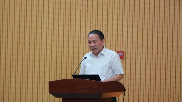 北京科技大學副校長王維才教授致歡迎詞圖片